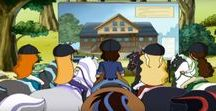 """Horseland Season 3 Episode 3 / 3.03""""A New Development''  The Horseland gang discovers that their beloved meadow may be used as a construction site, and vow to stop the development."""