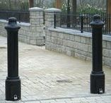Bollards and Controls / A variety of bollards and controls