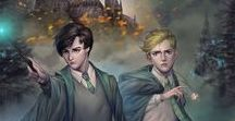 Harry Potter and the cursed child / Continue the adventures of the 3 heroes with their children.