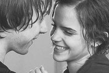 Ron+Hermione / They are both cute and finish together.