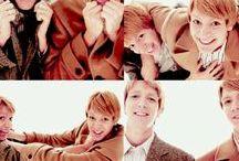 les jumeaux Weasley / Who doesn't like the Weasley's twins?