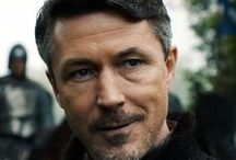 Aidan Gillen as Peter Baelish (Littlefinger) / It's my favorite actor in Game of Thrones. I don't know why but it's my favorite.