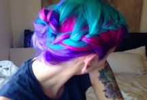 Hair / Pretty hair cuts, styles, colors... things about hair that I like / by Sara Cornelison