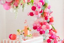 Party Time / DIY Party Decor, Favours, Balloons, Confetti, Tablescapes, Pinatas...
