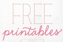 Downloads & Printables / by Kelly Moran