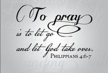 """Pray Without Ceasing / """"Thus the Lord was moved by prayer...."""" 2 Samuel 24:25b / by Diana Magelssen"""