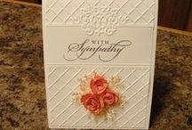 Cards - Sympathy / Ideas for handmade Sympathy cards.