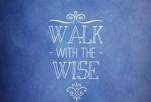 """Proverbs- """"to be like"""" - Seek God's wisdom / by Diana Magelssen"""