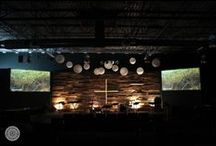 Delta / Church decor/stage design/graphics / by Emily Barnett