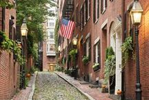 Boston / Must try eats, streets rich in history, fun facts, best shopping & tips for enjoying Boston to the fullest.