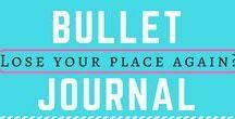 T bullet Journal / Bullet Journalling