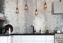 * Kitchen Splashback * / kitchen splash back, from tiles to glass and everything in-between.