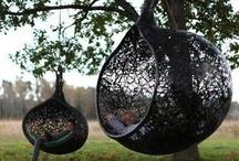 Swingers  / Swings, indoor and outdoor...a few hammocks too. / by Regina McGuinn