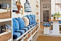 Casa de Praia / Ideias, dicas, truques, organização, decoração e soluções práticas para casas de praia.