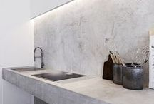 * Cool Concrete Kitchens * / Concrete kitchen inspiration from around the globe