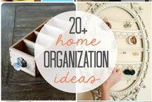 Organization. / by Sarah Villarreal