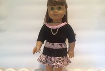Sewing For American Girl Dolls-18 inch Dolls / Tips for: resources, sewing, style,repurposing.  Please keep your contributions limited to to these topics.   PLEASE, only 5 pins per day.  Thanks!