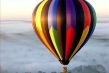 Hot Air Balloons - Away We Go! / by Tim Frock