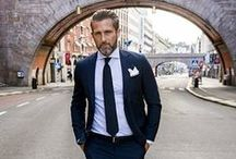 The Continental Look / Italian, Spanish, French .... that eclectic, contemporary but classic look that European gents embrace.
