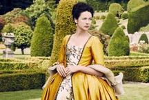 Outlander - Costumes / The best and most beautiful costumes from Outlander. To apreciation and awe.
