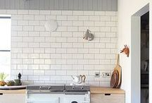 * Modern Farmstyle Kitchens * / A collection of modern farm style kitchens for today's lifestyle