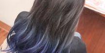 グラデーションカラー / 定番の毛先に向かって明るくor鮮やかにor色相を変えるスタイル。 オンブレ、ソンブレ、バイカラーなどなど。 最近は色んな形が増えましたよね。 そんなのをまとめてます。