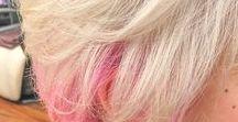 インナーカラー / 最早定番のスタイルですよね。 色、範囲は勿論、髪型によっても大きく変わるこのスタイル。 こちらのボードでは比較的普通のインナーカラーを載せております。