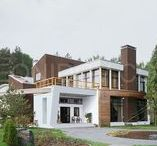 Country estate/Roman Leonidov architekts / современный загородный дом, contemporary architecture, архитектура, дизайн, проект, modern home