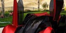 Ferrari & Mustang