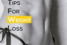 Tips for Weight Loss / Refers to a reduction of the total body mass