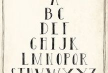 Fonts and Calligraphy Inspiration / To give you a little bit more information about the world of calligraphy and how many fonts are out there!