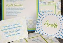 Bat Mitzvah Invitations / Getting ready for your Bat Mitzvah but still need invitations? Check out the options with Lemon Tree.