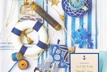 Nautical Nuptials / A little bit of everything to help make your sea themed wedding perfect! Lemon Tree Stationery is here to help with ocean inspired invitations and the rest of the board is here for inspiration.