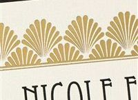 Art Deco Wedding / In addition to some Art Deco themed inspiration, this board has detail shots of Wedding Invitations from Lemon Tree Stationery! If you want personalized wedding stationery look no further than Lemon Tree Stationery!