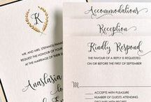 Eternity Traditional Wedding Collection / A collection of classic designs from Lemon Tree Stationery.