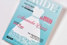 Bridal Shower Invitations / From traditional with a twist, to the totally unexpected, all fully customizable for you.
