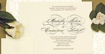 Past, Present and Future Weddings / Looking for classically designed wedding invitations? Then check out Lemon Tree Stationery for all of your wedding stationery needs!