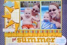 Water, Pool, Beach Scrapbooking / by Christel W