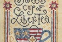 Cross Stitching / by Christel W