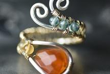 Trinkets and Shiny Things / Jewelry to make / by Jennifer Guttieri