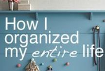 organize it ::productivity tips:: / by Entwined Blog