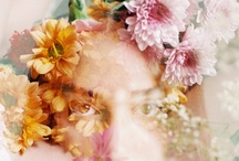 FLOWERS IN YOUR HAIR / ~ ❀ flower crowns ❀ ~ every hippie style floral hair wreath you can imagine.