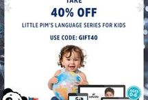 Little Pim Products & Offers / Little Pim Language Learning For Kids. Our best products, current promotions, coupon codes and special offers. Everything parents need to help their children learn a second language.
