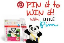 "Pin It to Win It! (Oct. 2013)  / Enter to Win a Discovery Set from Little Pim! 1. Follow Little Pim on Pinterest  2. Repin one gift set from our ""Pin It to Win It"" board in the language of your choice.  3. Include the hashtag #PIMittowinit 4. Complete the following sentence in the caption, ""I want my child to learn ______ because…""  And that's it! You'll be automatically entered to win the gift set you pin and there will be a random drawing for a winner on 10/16. (If you win, we will comment on your pin.)"