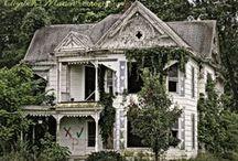 Habitat*haunted, vacant, ABANDONED, dilapidatad / so many mysterious, interesting, often beautiful buildings and sites...