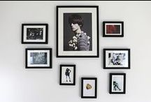 HOME: GALLERY WALLS / Inspiration for our home and future home!