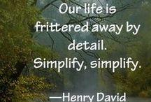 l i v i n g- simply / Simplify / by Tracy McGill