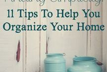 Simple Living / Tips and ideas on de-cluttering, organization and simplicity. / by Donna DeForbes @ Eco-Mothering