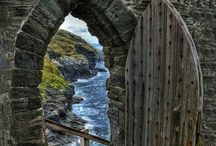 Gateways and doorways of magical realms