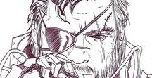 MGS Solid Snake Arts